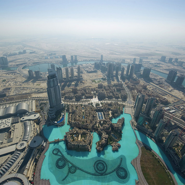 Город, концепт, архитектура, В Дубае появится первый в мире город с искусственным климатом