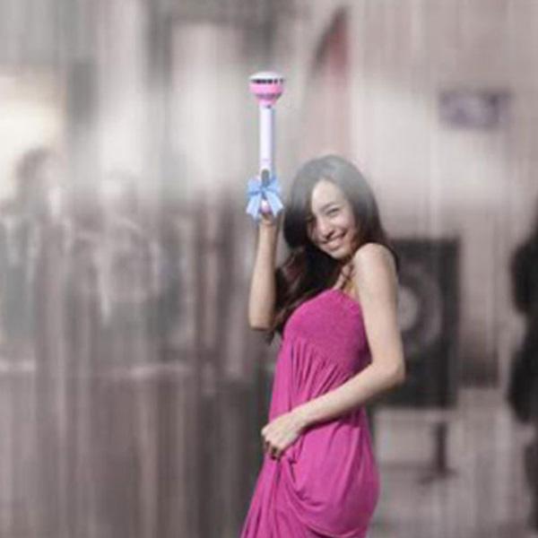 kickstarter, зонт, Kiсkstarter собирает на зонтик с воздушным силовым полем