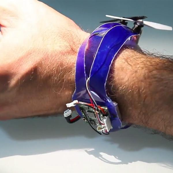 Nixie, дрон, Intel, Nixie — летающий браслет, получивший приз от Intel