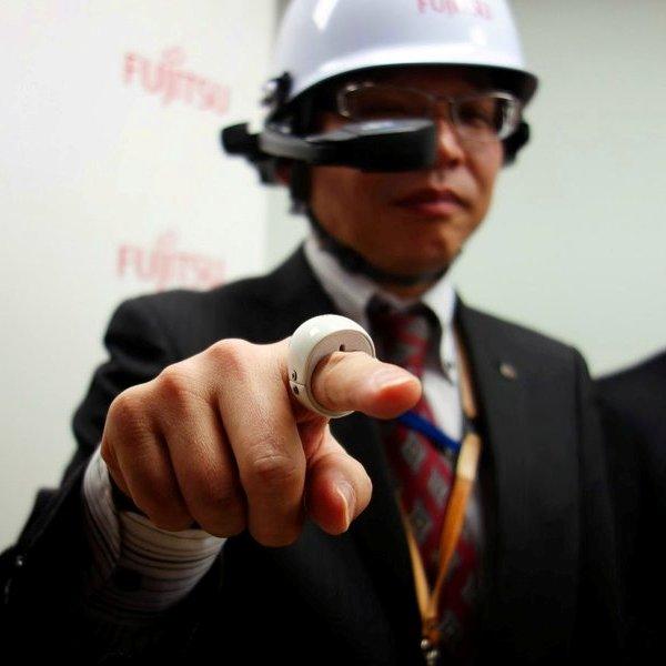 Bluetooth, Япония, смартфон, умные часы, гаджет, Fujitsu создала «волшебное» кольцо