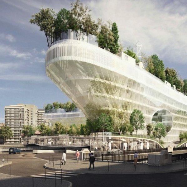 Архитектура, дизайн, идея, концепт, Milles Arbres: зелёный город будущего