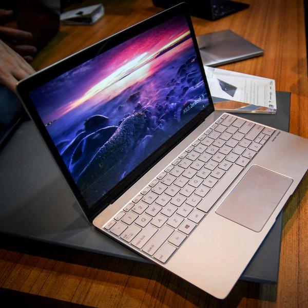 Asus, Microsoft, Windows, ноутбук, концепт, дизайн, Asus представила ультратонкий ноутбук ZenBook 3: «убийца» MacBook?