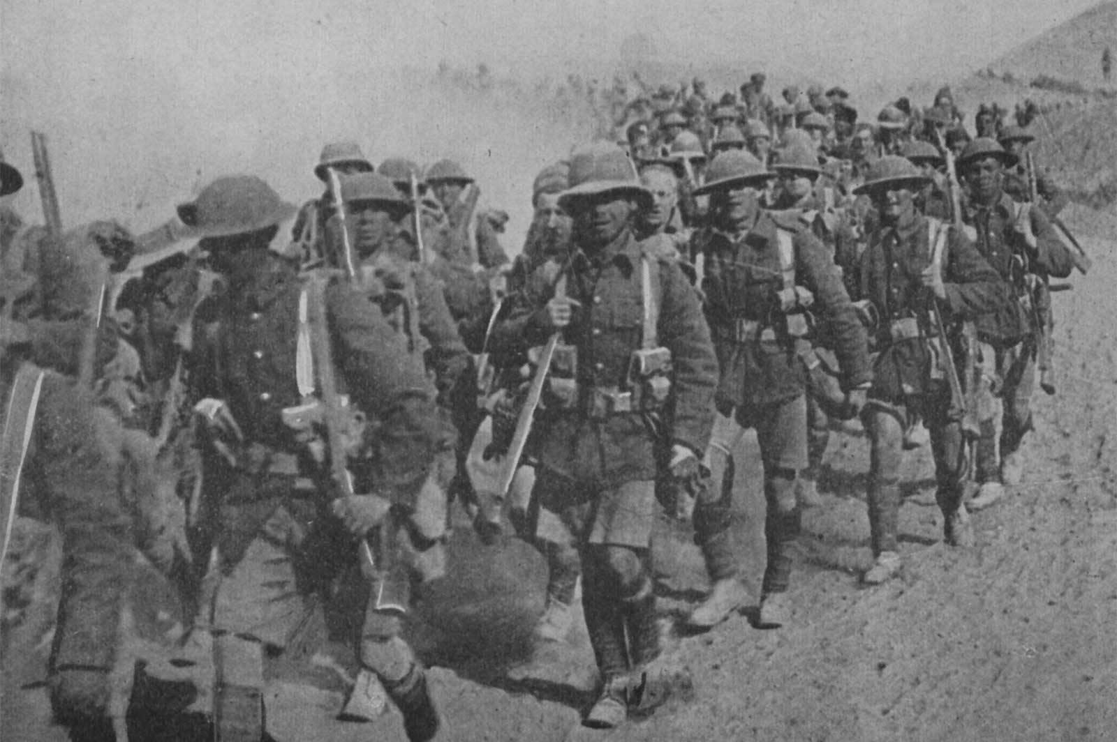 Новый трейлер к Battlefield 1: танки, лошади и бронепоезда в песках Месопотамии