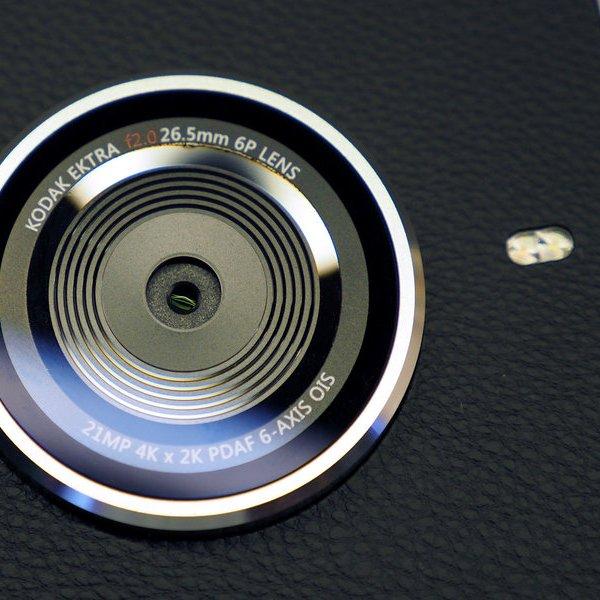 Kodak,Android,фотография,камера,смартфон, Камерофон Kodak Ektra: возрождение легендарного бренда
