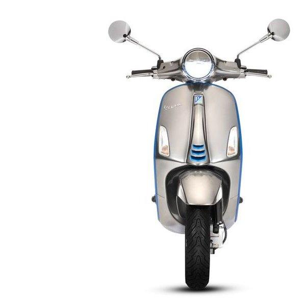 Vespa, автомобиль, дизайн, рецензия, Мотороллер Vespa Elettrica: легенда переходит на электротягу