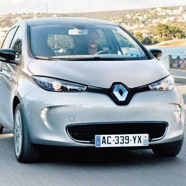 Apple, iOS, Как едет новый электромобиль Renault ZOE?