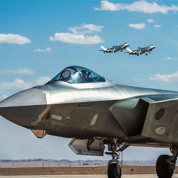 Китай,авиация,самолёт,война, «Чэнду» J-20 начал поступать в войска: новое супероружие Китая