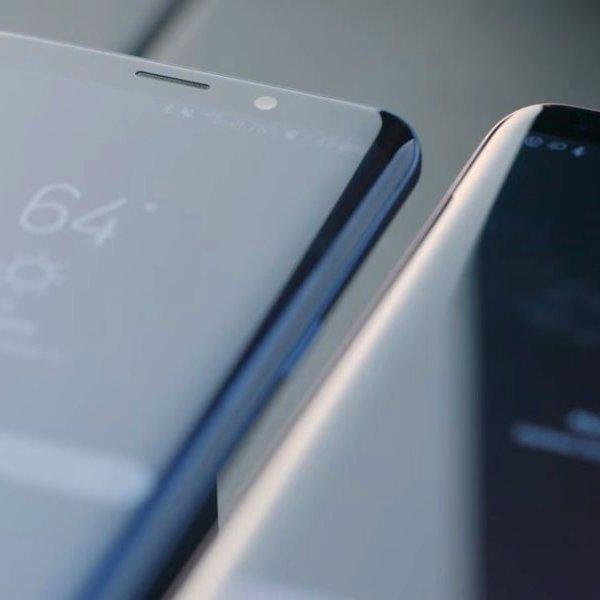 Samsung,Galaxy,смартфон, Samsung представила смартфоны Galaxy S9 и S9 Plus