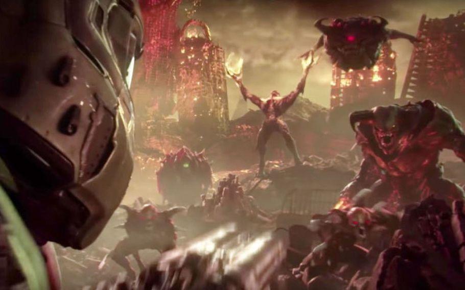 Ад на Земле. Геймплей Doom Eternal